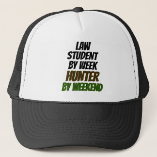 Law Student Hunter Trucker Hat