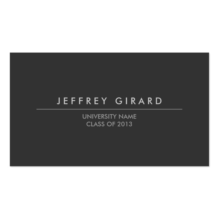 Law student modern business card zazzle for Law student business card