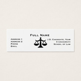 Law Student Profile Card 1