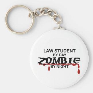 Law Student Zombie Keychain