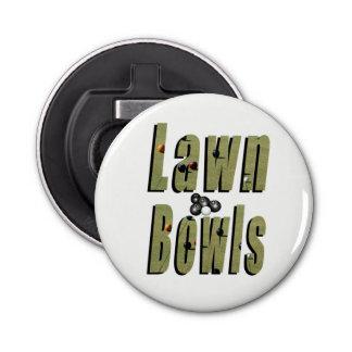 Lawn Bowl Dimensional Logo, Bottle Opener