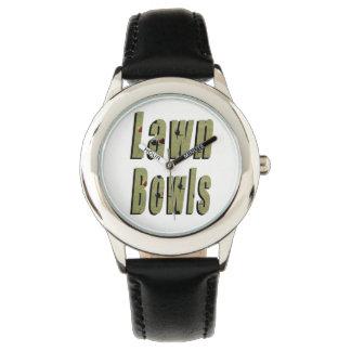 Lawn Bowl Dimensional Logo, Watch