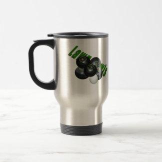Lawn Bowls And Logo, Travel Mug