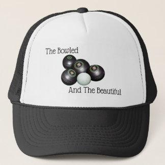Lawn Bowls Bowled Beautiful Logo, Trucker Hat