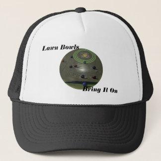 Lawn Bowls Bring It On, Trucker Hat