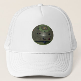 Lawn Bowls Competition Bowl, Trucker Hat