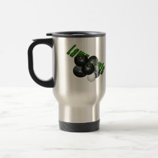 Lawn Bowls, Dimensional Logo, Commuter Mug