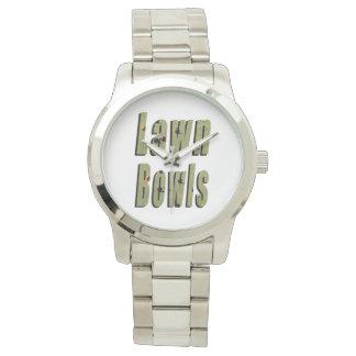 Lawn Bowls Dimensional Logo, Watch