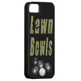 Lawn Bowls Picture Logo And Bowls, Case For The iPhone 5