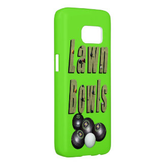 Lawn Bowls Picture Logo And Bowls, Samsung Galaxy S7 Case