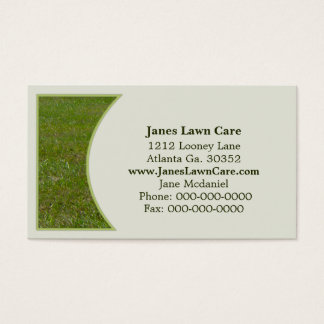 Lawn Business Card