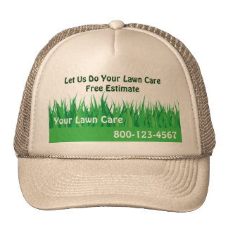 Lawn Care Hat