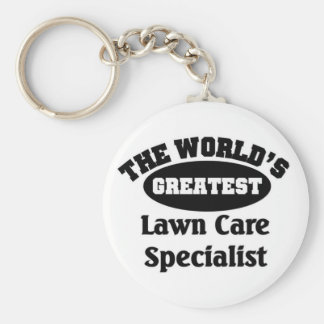 Lawn Care Specialist Keychain