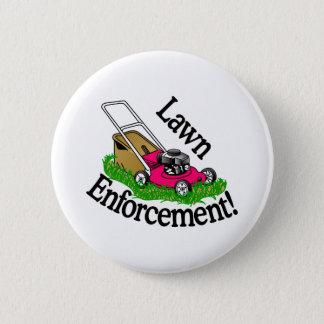 Lawn Enforcement 2 Inch Round Button