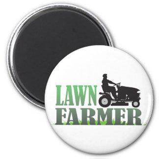 Lawn Farmer 2 Inch Round Magnet