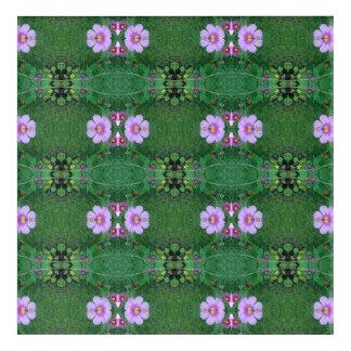 Lawn Flower Dapple crop A Fractal Acrylic Wall Art