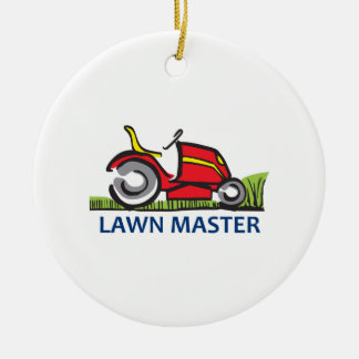 LAWN MAINTENANCE CERAMIC ORNAMENT