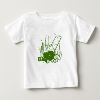 Lawn Mower Baby T-Shirt