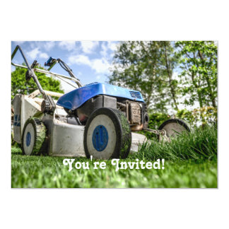 Lawn mower card