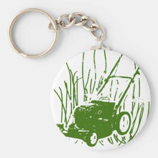Lawn Mower Keychain
