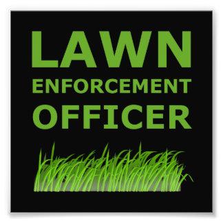 Lawn Officer Green Photo Art