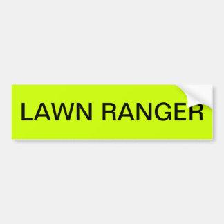LAWN RANGER BUMPER STICKER