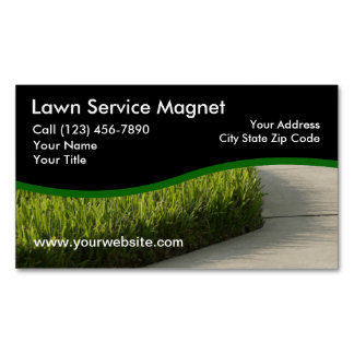 Lawn Service Business Magnets