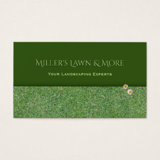 Lawn with (or without) Daisies Business Card