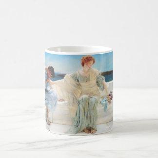 Lawrence Alma Tadema Ask Me No More Mug