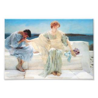 Lawrence Alma Tadema Ask Me No More Photo Art