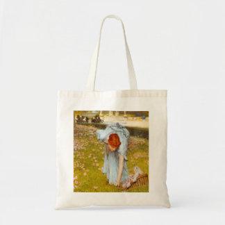 Lawrence Alma Tadema Spring in the Garden Budget Tote Bag