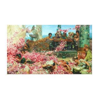 Lawrence Alma-Tadema The Roses of Heliogabalus Canvas Print