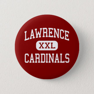 Lawrence - Cardinals - High - Trenton New Jersey 2 Inch Round Button