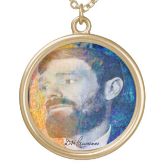 Lawrence In Colour Gold Plated Necklace