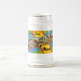 Lawrence Massachusetts MA Vintage Travel Souvenir Beer Stein