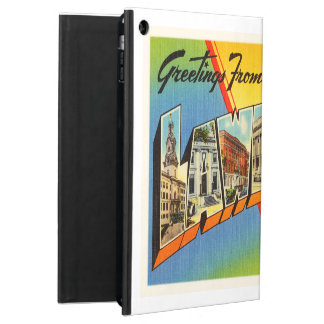 Lawrence Massachusetts MA Vintage Travel Souvenir iPad Air Cover