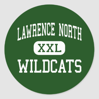 Lawrence North - Wildcats - High - Indianapolis Classic Round Sticker