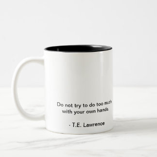 Lawrence of Arabia Mug
