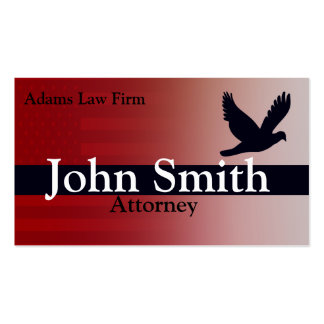 Lawyer And Attorney Business Card