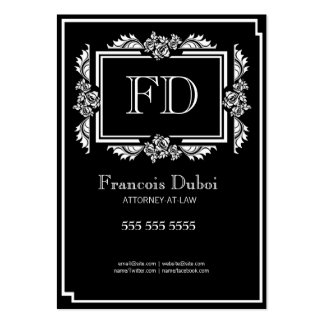 Lawyer Attorney Law Firm Business Card