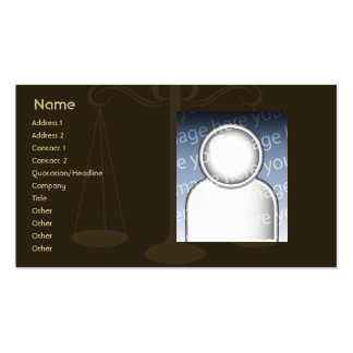 Lawyer - Business Pack Of Standard Business Cards