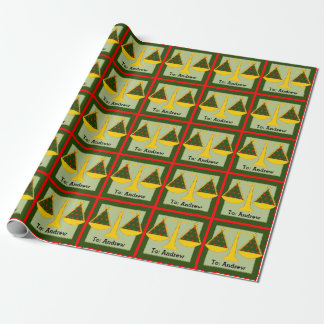 lawyer Christmas Wrapping Paper