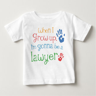 Lawyer (Future) Infant Baby T-Shirt