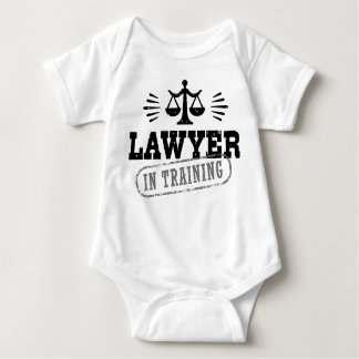 Lawyer In Training Baby Bodysuit