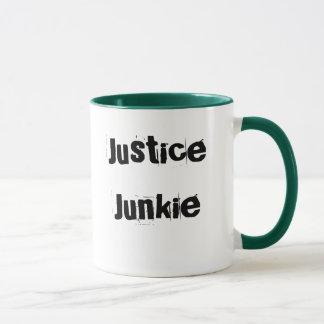 Lawyer Mug - Funny Nickname - Justice Junkie
