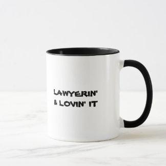 Lawyer Mug: Lawyerin' & Lovin' it Mug