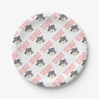 LAWYER PAPER PLATE