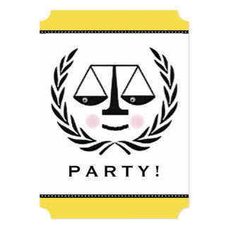 Lawyer Party Invitation