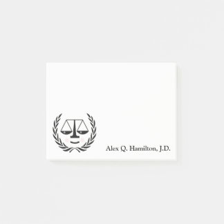 Lawyer Post-it Notes