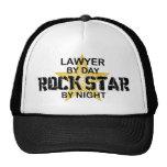 Lawyer Rock Star by Night Trucker Hat